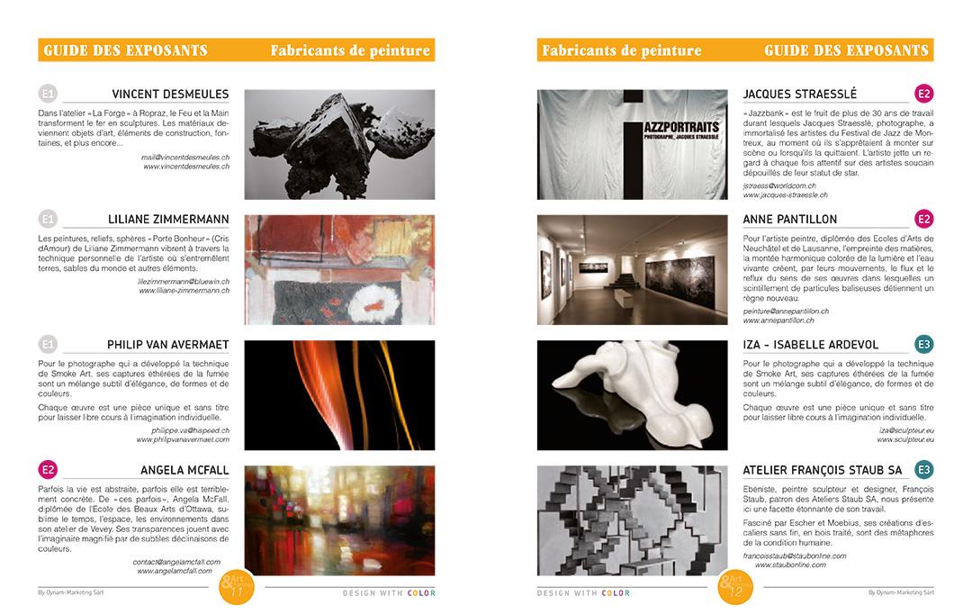 Projet de magazine – pages Guide Peinture