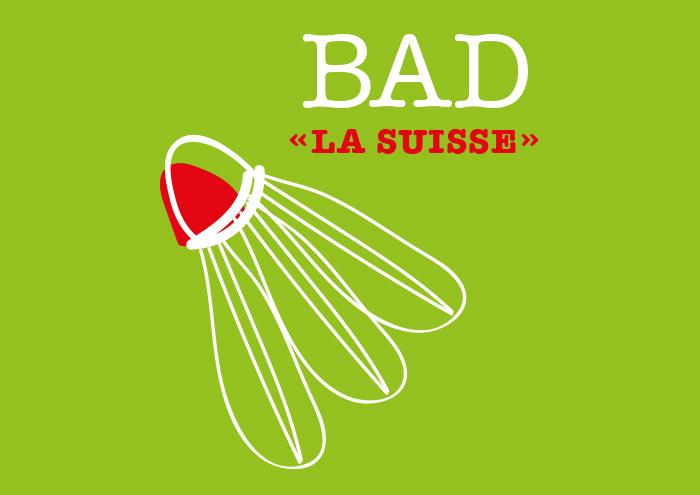 Logo La Suisse Badminton