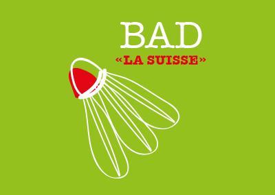T-shirt La Suisse Badminton