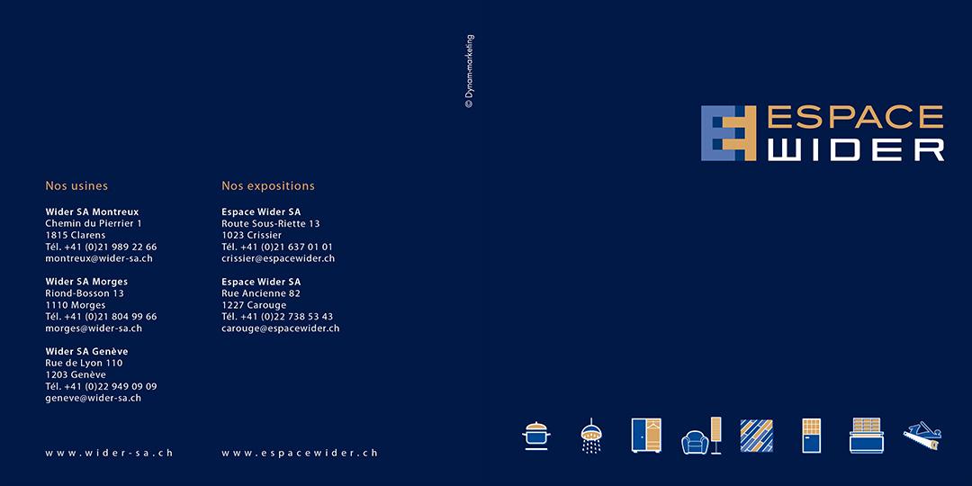 Espace Wider – Booklet couverture